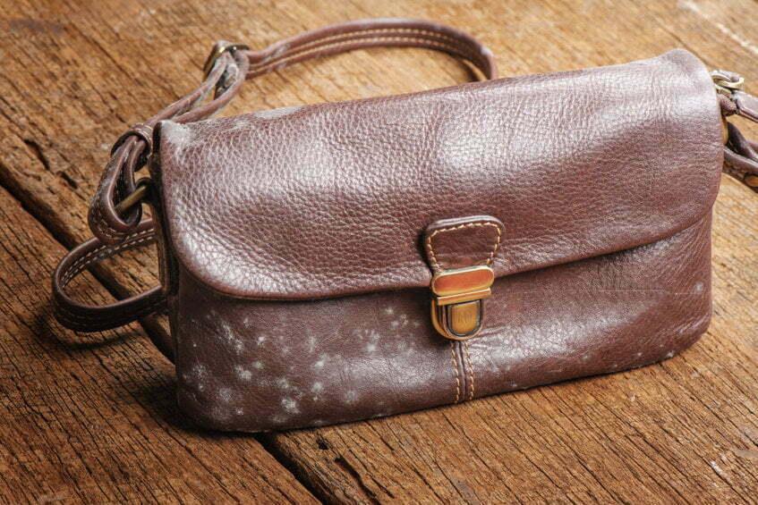 Entretien d'un sac en cuir